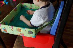 diy travel desk/tray desk For Kids Road Trip Activities, Activities For Kids, Travel Tray For Kids, Car Seat Tray, Diy For Kids, Crafts For Kids, Desk Tray, Packing Tips For Travel, Travel Hacks