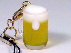 ドリンク携帯ストラップ > ミニ生ビール携帯ストラップ