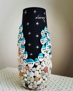 Alanay Seashell Painting, Pebble Painting, Pebble Art, Stone Painting, Barn Crafts, Diy Home Crafts, Diy Crafts For Kids, Stone Crafts, Rock Crafts