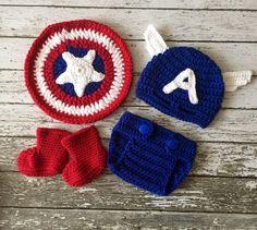 Capitán América inspirado traje/Capitán América