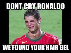 Typical ronaldo......