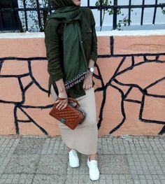 How to wear pencil skirts with hijab – Just Trendy Girls