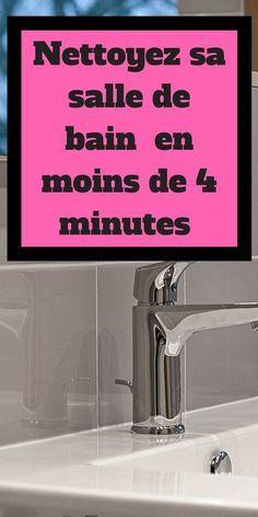 Guide : Nettoyer sa salle de bain en moins de 4 minutes