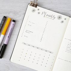 """1,429 Likes, 23 Comments - joos   bullet journal newbie (@bu.joos) on Instagram: """"J U L Y // monthly overview I love the daisies in the header which is totally inspired by…"""""""
