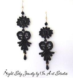 Venice Lace Earrings