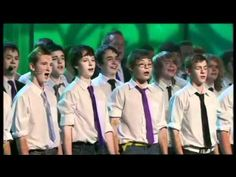 Only Boys Aloud - Calon Lan (Welsh). I think i just fell in love with their voices