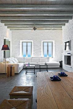 Mediterranean summer house on Serifos Island
