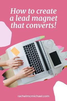 In this episode, I'm sharing three practical, tangible, easy steps to create a lead magnet that converts and answering common questions about how to keep your ideal client interested. Business Tips, Online Business, Best Email Marketing Software, Landing Pages That Convert, Branding Template, Lead Magnet, Blog Writing, Work From Home Moms, Professional Development