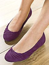 Hush Puppies Zella - Flats go from plain ballerina to prima donna, thanks  to a bit of ruching on the top.