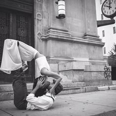 Yoga is love. #acroyoga https://www.facebook.com/pages/Yoga-Society/321264924688164
