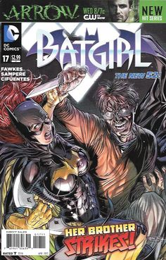 Batgirl # 17 DC Comics The New 52! Vol 4