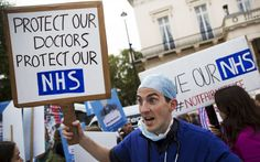 More than 5,000 operations across England were cancelled ahead of the 48-hour   strike by junior doctors