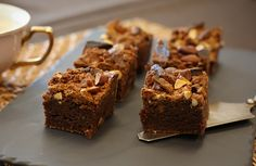 Salted Almond, Tim Tam Brownies Preparation time: 15 minutes Cook time: 25 minutes Serves: 16 Ingredients · Melted butter, to grease · 120g dark chocolate, chopped · 120g butter · 1 ½ cups caster...