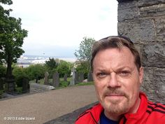 Eddie Izzard's photo: From the Church in Penarth back into Cardiff Bay