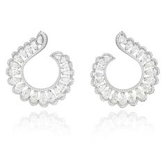 Cannes 2015 Les boucles d'oreilles Red Carpet en diamants de Chopard