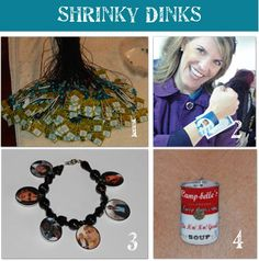 Shrinky Dinks for your inkjet printer. Awesome.
