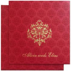 www.regalcards.com is the one stop web site to shop damask motif Invitation cards. Now showcasing this beautiful one from the array of mesmerizing invitations.