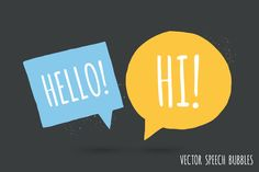 FREE this week on Creative Market: Speech bubble pack Ai, PSD and PNG by Vítek Prchal Download link: http://crtv.mk/g0B1L