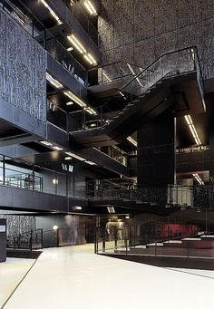 I was here yesterday, such an impressive building! University Library Utrecht by Wiel Arets Architects