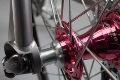 Moots Continental Bike (Rapha) Chris King Hubs