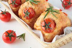 Muffin salati pomodorini emmental