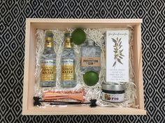 Gin and Tonic gift boxes to thank your groomsmen for all that they do