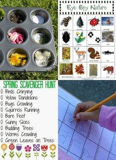 Awesome outdoor activities & games -- great pre-reading ideas and fun ways to learn!