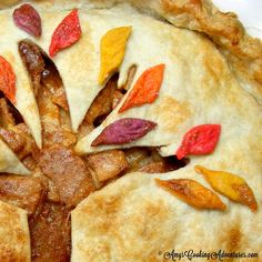 Amy's Cooking Adventures: Fall Leaf Apple Pie