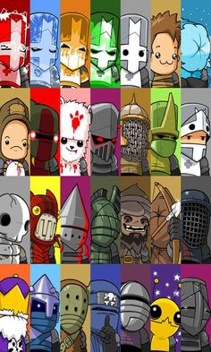 The wonderful characters of Castle Crashers