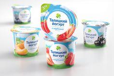 Разработка дизайна упаковки молочных продуктов — Brandiziac - Брендинговое агентство