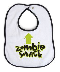 ThinkGeek :: Zombie Snack Bib