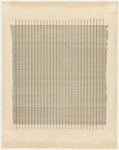 Agnes Bernice Martin was an American artist. She was known for her pared-down geometric abstractions. Martin also influenced many modern art movements, including hard-edge painting, conceptualism, and minimalism. Abstract Painters, Abstract Art, Action Painting, Painting & Drawing, Painting Prints, Agnes Martin, Moma, Abstract Expressionism, Art History