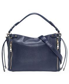 Blue Rectangular Bag