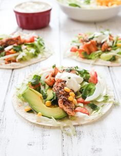 Grilled Salmon Soft Tacos | Brunch Time Baker