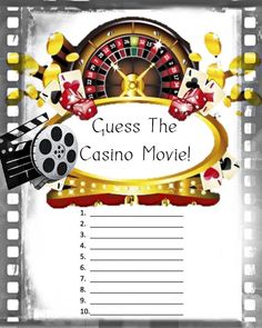 Birthday PartyGuess the Casino Game Casino by 31Flavorsofdesign, $8.50