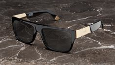 d67579c9db 9FIVE 22 Black   24k Gold Sunglasses