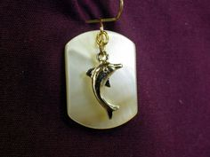 Jo-Bobs Fashion Jewelry - 14 Kt Gold Plate Dolphin On Stunning Mother Of Pearl, $7.95 (http://www.jo-n-bobsfashionjewelry.com/14-kt-gold-plate-dolphin-on-stunning-mother-of-pearl/)