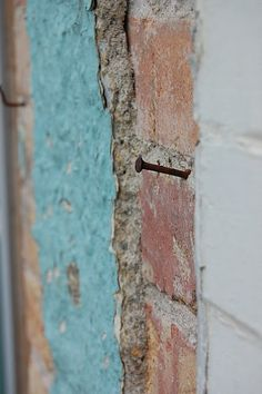 turquoise and brick