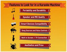 Karaoke Machine Tips on HubPages.