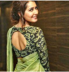 Sari Blouse, South Indian Actress, Indian Actresses, Saree, Photoshoot, Image, Fashion, Moda, Saree Blouse