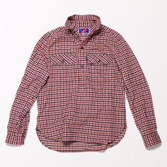 Made of a wonderfully soft, yet completely resilient Japanese cotton-flannel, our pullover offers an exquisitehand-feel that seriously stan...
