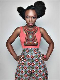 style en mi opinion: African inspiration!