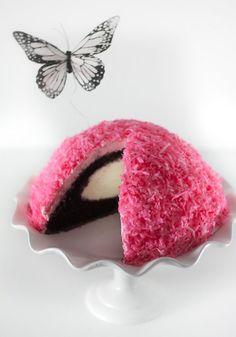 Pink Snowball Cake Recipe