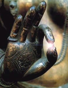 The light of the world is right at your fingertips. #om #namaste