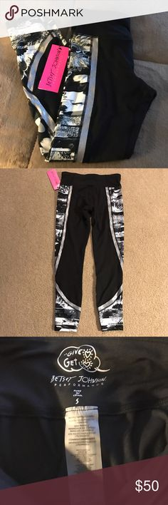 6b0dad781eda4 Betsey Johnson Performance Work out Pants NWT Brand new never worn soft  comfortable and stylish great to workout in Betsey Johnson Pants Track Pants  & ...