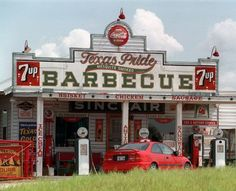 "Texas Pride Barbecue: 2980 E. Loop 1604, Adkins, 210-649-3730. Guy Fieri helped make a batch of beans here on ""Diners,  Drive-Ins and Dives."""