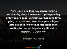 500 Quotes about Death. Death Quotes, O Donnell, My Sunshine, Grief, Hate, Cards Against Humanity, Shit Happens, Sadness