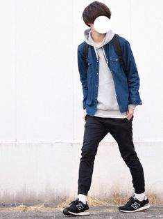とっしーさんのコーディネート Weird Fashion, Boy Fashion, Fashion Photo, Mens Fashion, Fashion Outfits, Fashion Design, White Outfit For Men, White Outfits, Casual Outfits