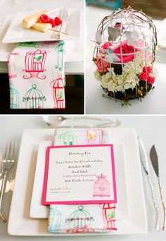"Cute baby shower theme - ""feather their nest"""