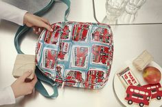 Cath Kidston autumn new collection | London Buses kids backpack